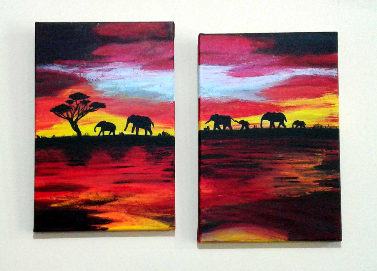 Jennies Elephant Paintings